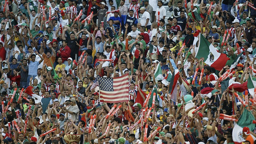 DALLAS - APRIL 28:  A general view of the crowd taken during an International Friendly match between of the USA national team and Mexico on April 28, 2004 at the Cotton Bowl in Dallas, Texas. USA defeated Mexico 1-0. (Photo by Ronald Martinez/Getty Images).